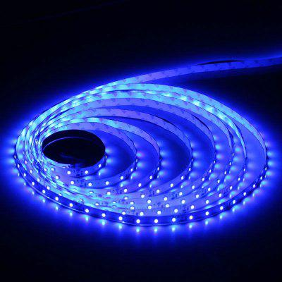 5 Meters x 60 SMD - 2835 LEDs 1500LM Cuttable Adhesive Blue LED Light Strip ( 30W DC 12V )