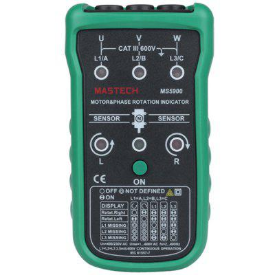 MASTECH MS5900 Three Phase Rotation Indicator Checker 120V  -  400V AC