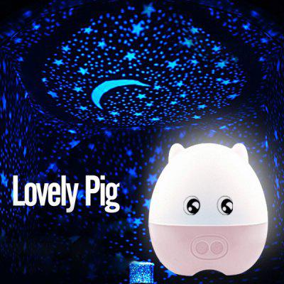 Lovely Pig Projection Lamp