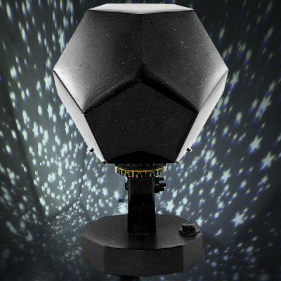 Starry Projector Light The Fourth Generation Of Automatic Rotating Flashing  Sky Star Lamp ...