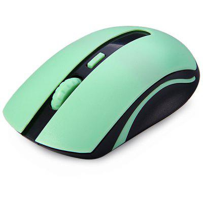 Buy JT 5006 2.4GHz Mini Wireless Optical Mouse with Receiver for Desktop Laptop PC Computer GREEN for $9.29 in GearBest store