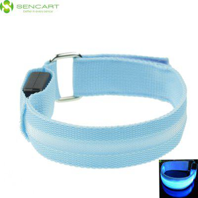 Sencart 3 Mdoes LED Flashing Wristband Bracele Stage Props Armband for Outdoors Sports Rave Party