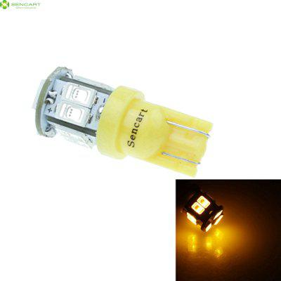 Sencart T10 149 W5W 5W 11 x SMD - 5730 500LM Yellow Light Car Light Bulb ( DC 12 - 16V )