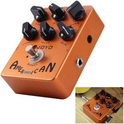 JOYO JF - 14 True Bypass Design American Sound Amp Simulator Electric Guitar Effect Pedal with 6 Adjustable Knobs