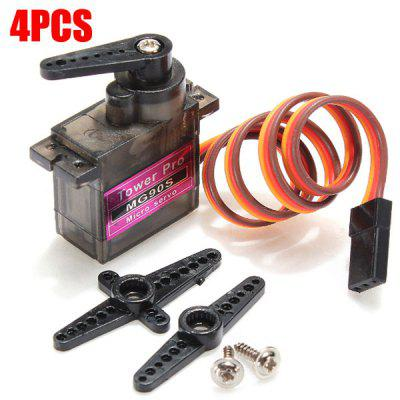 TowerPro MG90S Metal Gear RC Micro Servo for RC Model Accessories - 4 Pcs