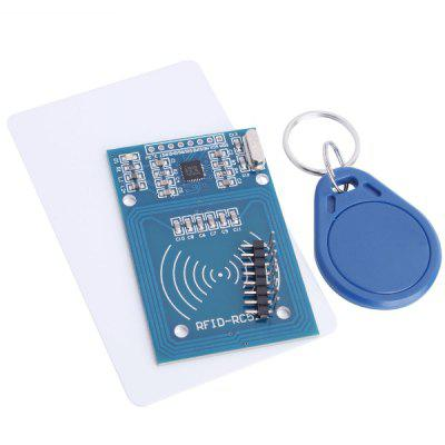 RFID-RC522 DIY Safety Key Fob Sensor RF IC Card Module Board