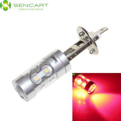 Sencart H1 P14.5S 50W Cree XP - E 10 LEDs 2800LM Red LED Car Fog Light High / Low Beam Lamp ( 12 - 24V )