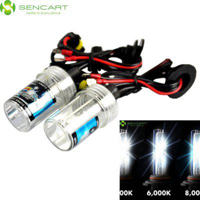 Sencart H8 H9 H11 PGJ191 55W 4500LM 6000K White Light HID Xenon Car Headlamp DC 12V