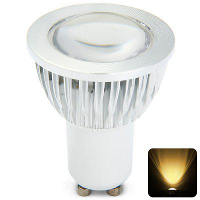 280LM GU10 3W COB Warm White LED Spot Bulb Energy Saving Light ( AC 85 - 265V )