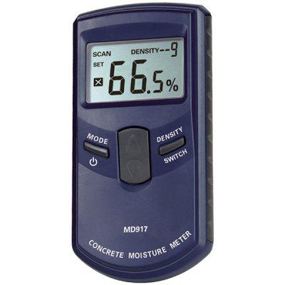 MD-917 Professional Digital LCD Concreter Wall Moisture Tester Humidity Meter with Low Battery Indication