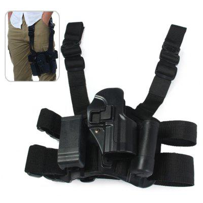 Right Hand Tactical Leg Mounted Nylon Strap + Plastic Holder