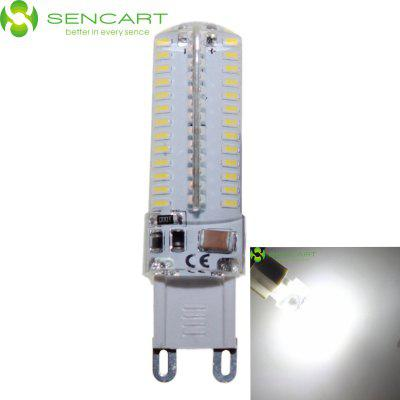 G9 AC 110 - 130V 500LM 5W 104 SMD 3014 LED Cool White Waterproof LED Corn Lamp ( 5000 - 6500K )