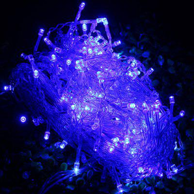 200 LEDs 5m Outdoor Fairy LED String Light Net Lamp for Christmas Halloween Wedding ( Blue Light EU Plug )
