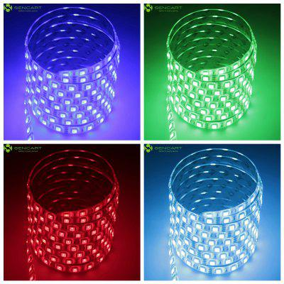 Sencert RGB 300 x SMD - 5050 LED Colorful Glaring Water Resistant Strip Light ( 75W DC 12V ) + 24 - Keys IR Controller
