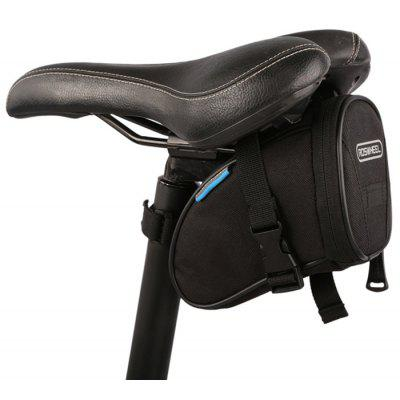 Buy BLACK Roswheel 13656 Cycling Bike Bicycle Rear Seat Saddle 1L Capacity Tail Bag for $3.99 in GearBest store