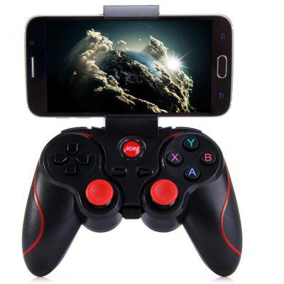 T3 Wireless Bluetooth 3.0 Gamepad Gaming Controller for Android Smartphone - BLACK