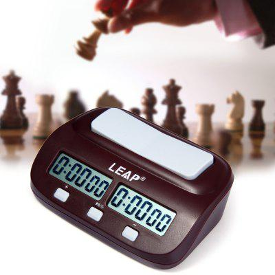 Buy WINE RED New LEAP PQ9907S Electronic Board Game Chess Clock Timer for I-go for $17.98 in GearBest store