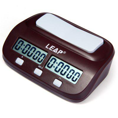 LEAP PQ9907S Electronic Board Game Chess Clock Timer for I-go vintage board game saboteur