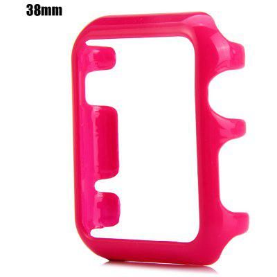 Hard PC Protective Cover Case with Solid Color for Apple Watch 38mm