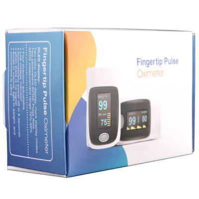 Фото RZ001 OLED Display Fingertip Pulse Oximeter SpO2 Oxygen Monitor for Healthcare Home Use. Купить в РФ