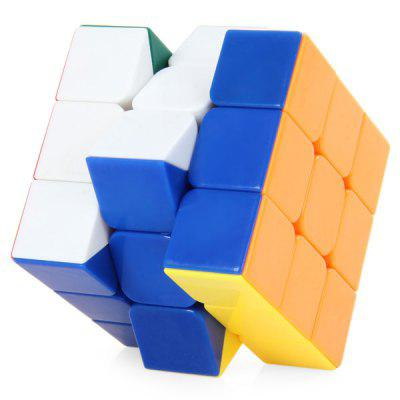 Shengshou 7121A  -  1 3x3x3 Magic Cube Brain Teaser Educational Toy ( Three Layers ) new shengshou 10x10x10 magic cube professional pvc