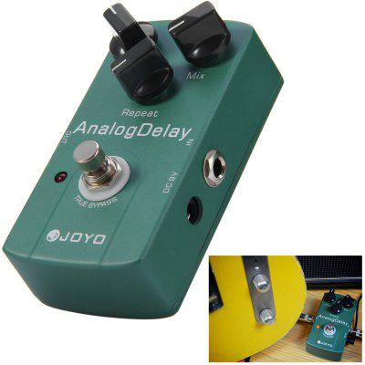JOYO JF - 33 Aluminiowy aluminiowy materiał True Bypass Design Electric Guitar Analog Delay Effect Pedal