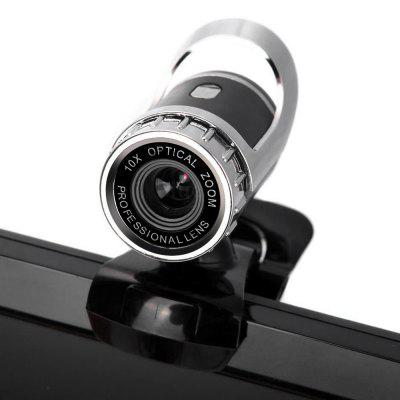HD Clip-on Webcam 360 Degree Rotatable Web PC Camera with MIC for PC Laptop Computer newest webcam usb 12 megapixel high definition camera web cam 360 degree mic clip on for skype computer