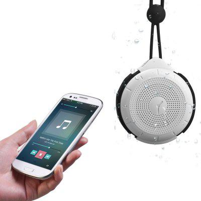 Buy BLACK MOCREO MOSOUND Tictac IPX4 Water Resistant Wireless Bluetooth V2.1 Hands free Phone Speaker with 3.5mm AUX Audio Input for $14.78 in GearBest store