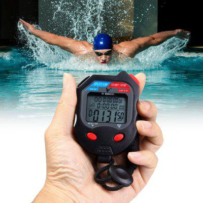 PC560 3 Rows 60 Memories LCD Digital Stopwatch