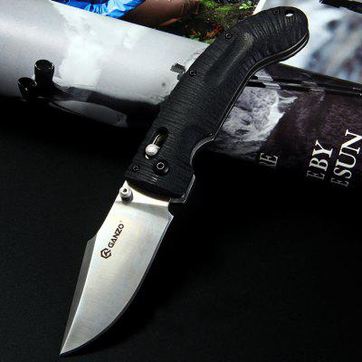Ganzo G711 Pocket Axis Locking Foldable Camping Hunting Knife 440C Blade в магазине GearBest