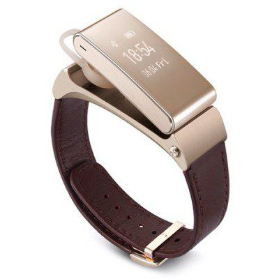 huawei talkband b2 bluetooth genuine leather band smart. Black Bedroom Furniture Sets. Home Design Ideas