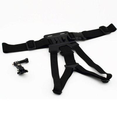 Light Weight Chest Band with 3-way Adjustment Base for GoPro Hero 4 / 3 / 2 / 1 / SJ4000 / SJ5000 Xiaomi Yi Camera