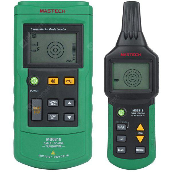 mastech ms6818 advanced wire tracker pipe locator detector network rh gearbest com electrical wiring motion detector electrical wiring detector tools