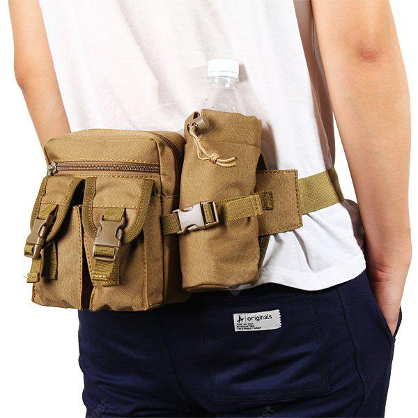 Multipurpose Waist Bag with Bottle Pack for Outdoor Cycling Camping Traveling