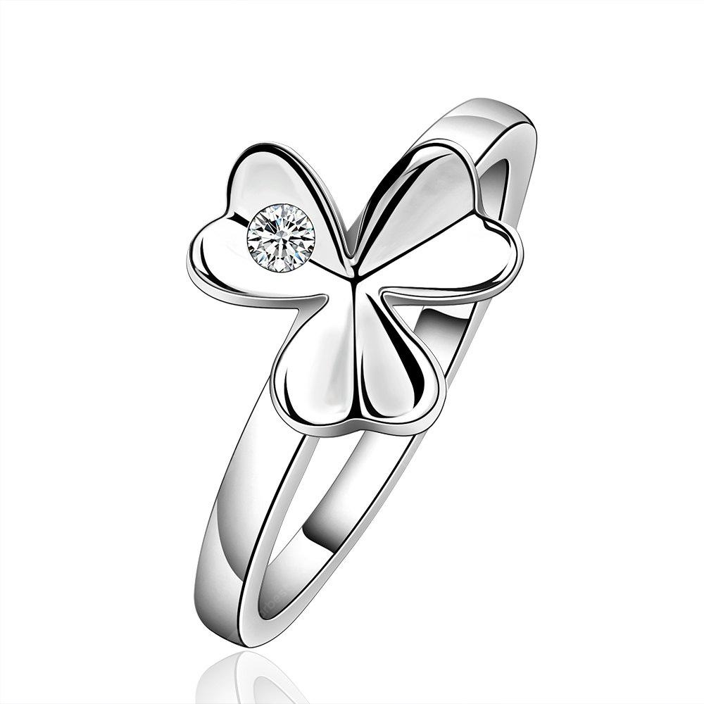 Fresh Style Floral Print Ring For Women