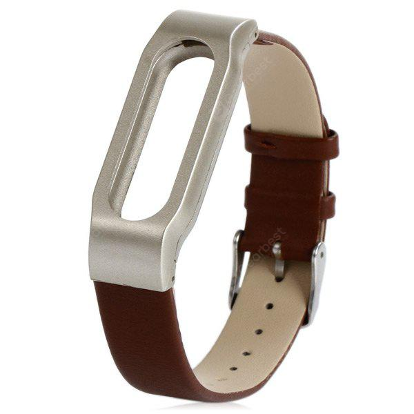 Braille de couro Watch Band anti-lost Strap design