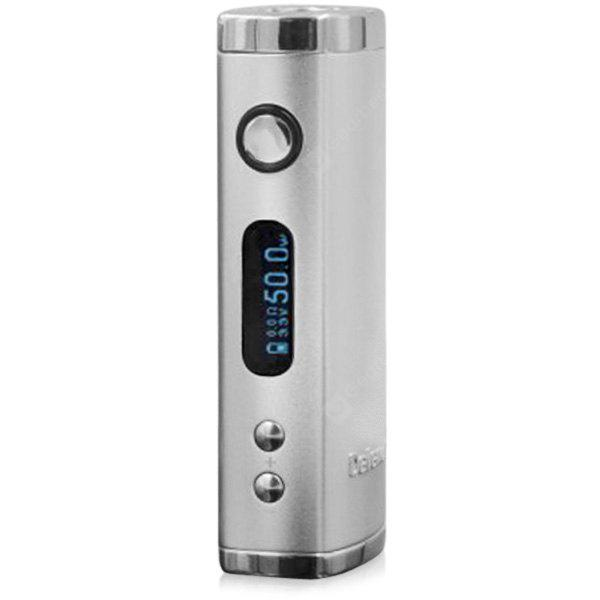 Original Heatvape Defender 50W VV / VW Variable Wattage E - cig Box Mod Digital Display OLED Screen 510 Thread SILVER