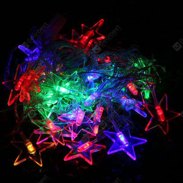 Color Changing Christmas Lights.6m 28 Leds Color Changing Christmas Star Rgb Led String Light Curtain Lamp For Outdoor Garden Party