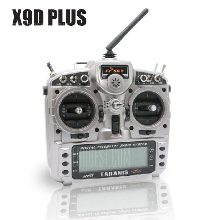 FrSky Taranis X9D Plus 16CH RC Transmitter with X8R Receiver