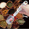 Hostweigh TC - 11 Kitchen Digital Scale Measuring Spoon 300g Capacity Tea Seasoning Digital Weighing Device with LCD Solar Panel - SILVER