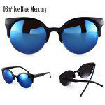 Buy 03# ICE BLUE MERCURY, Apparel, Glasses, Stylish Sunglasses, Women's Sunglasses for $3.03 in GearBest store