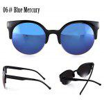 Buy 06# BLUE MERCURY, Apparel, Glasses, Stylish Sunglasses, Women's Sunglasses for $3.26 in GearBest store
