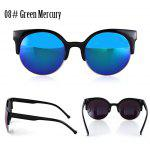 Buy 08# GREEN MERCURY, Apparel, Glasses, Stylish Sunglasses, Women's Sunglasses for $3.20 in GearBest store