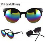 Buy 09# COLORFUL MERCURY, Apparel, Glasses, Stylish Sunglasses, Women's Sunglasses for $3.37 in GearBest store