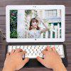 Leather Tablet PC Keyboard Protective Case with Docking Magnetic Suction Keyboard for VOYO A15