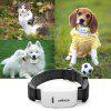 DMDG Mini Waterproof IPX6 Pet GPS Tracker Locator Ublox Chip Support GPRS / GSM Network for Dog / Cat - WHITE AND BLACK