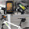 Water Proof Rotating Bicycle Bike Mount Handle Bar Holder Case for Apple iPhone 6 Plus Samsung Galaxy S4 S6 Edge etc. - BLACK