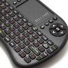 2.4GHz UKB - 500 - RF Mini Wireless Combo - Tastatur / Touchpad Maus / Mini Taste - SCHWARZ