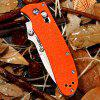 Ganzo G704 Tactical Folding Knife for Home / Outdoor Camping / Hiking / Adventure Activities - ORANGE
