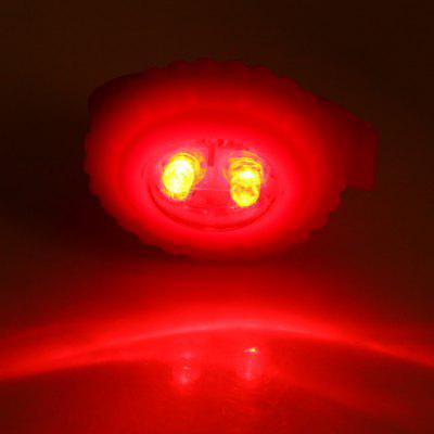 Ulac E - 5 Night Cycling 2 Modes LED Warning Light with Silica Gel Cover